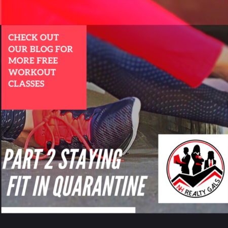 FREE WORKOUTS DURING QUARANTINE (Part 2)