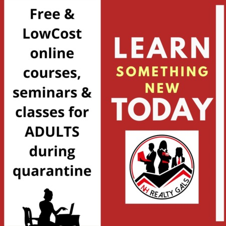At Home Courses for Adults during Quarantine