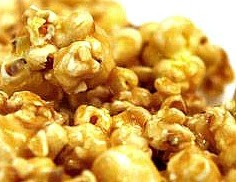 FOODIE FRIDAY-MICROWAVE CARAMEL CORN
