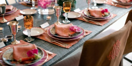 TUESDAY TIPS-SET YOUR TABLE TO SHOW OFF THE DINING ROOM!