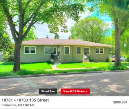 Why This Property: North Glenora Side-by-Side Duplex