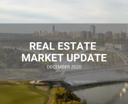 Edmonton & Area Real Estate Market Update, December 2020