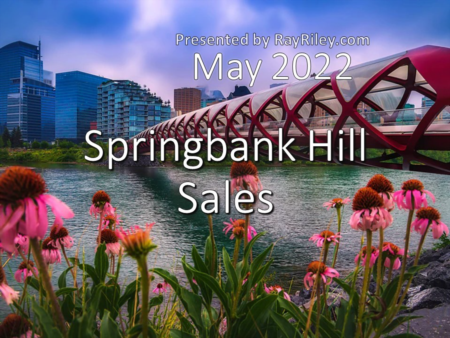 Springbank Hill Home Sales Update