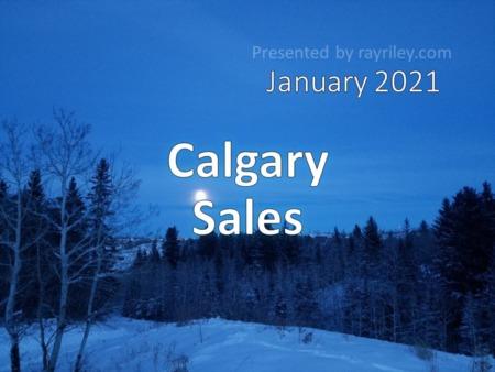 Calgary Housing Market Update January 2021