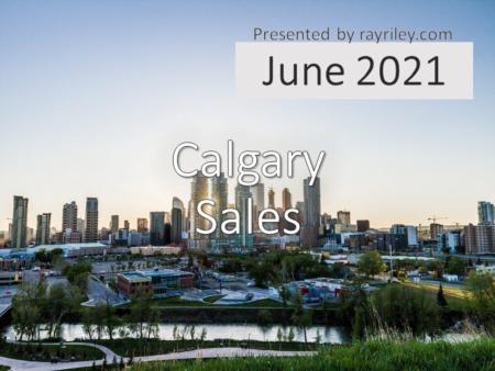 Calgary Home Sales Update June 2021