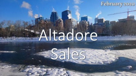 Altadore Housing Market Update February 2020