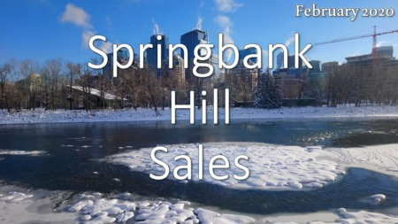 Springbank Hill Housing Market Update February 2020