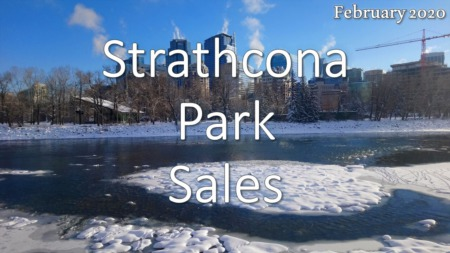 Strathcona Park Housing Market Update February 2020