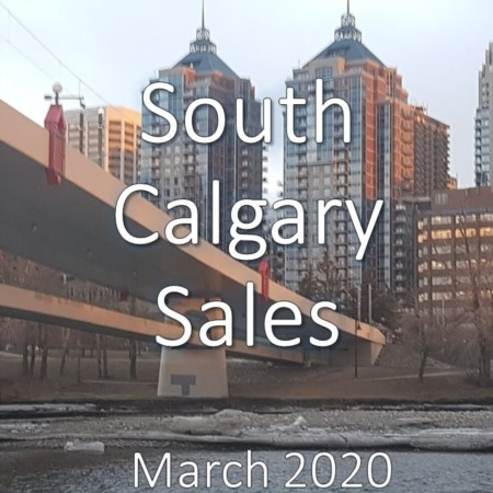 South Calgary Housing Market Update March 2020