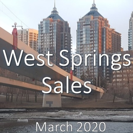 West Springs Housing Market Update March 2020