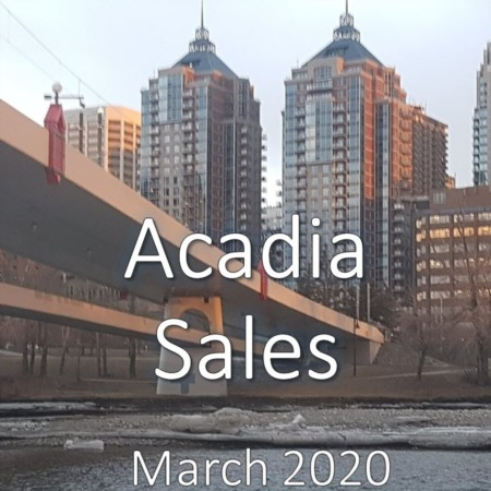Acadia Housing Market Update March 2020