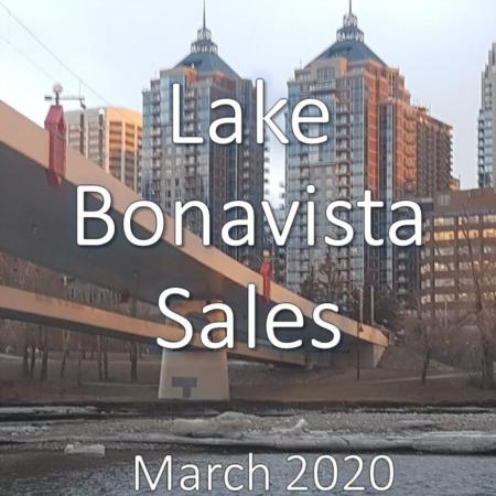Lake Bonavista Housing Market Update. March 2020