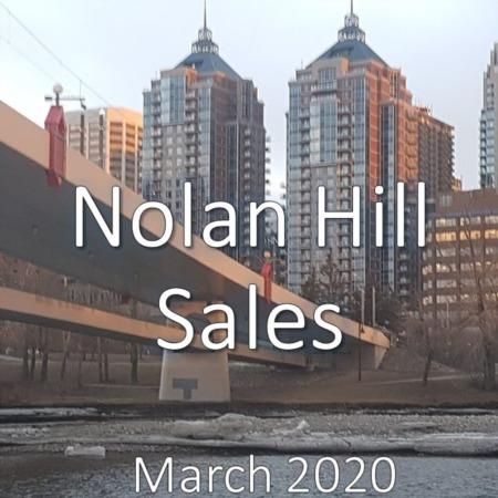 Nolan Hill Housing Market Update. March 2020