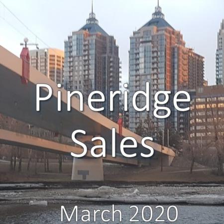 Pineridge Housing Market Update. March 2020