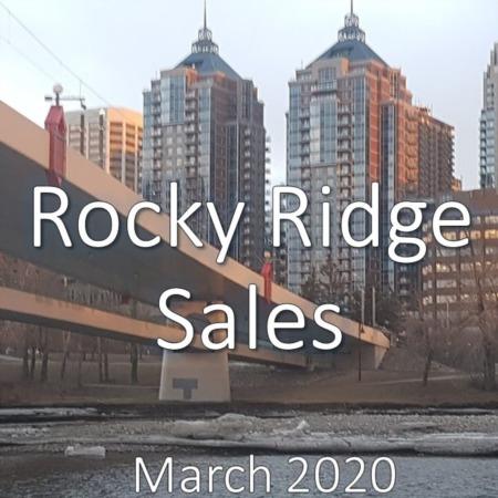 Rocky Ridge Housing Market Update. March 2020