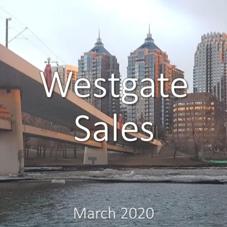 Westgate Housing Market Update. March 2020