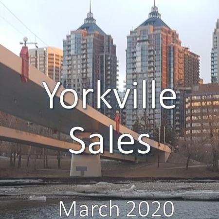 Yorkville Housing Market Update. March 2020