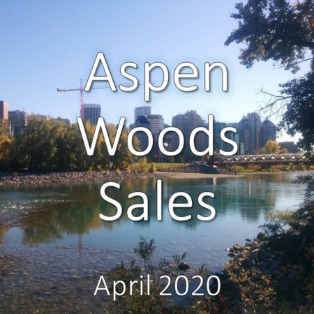 Aspen Woods housing market update. April 2020