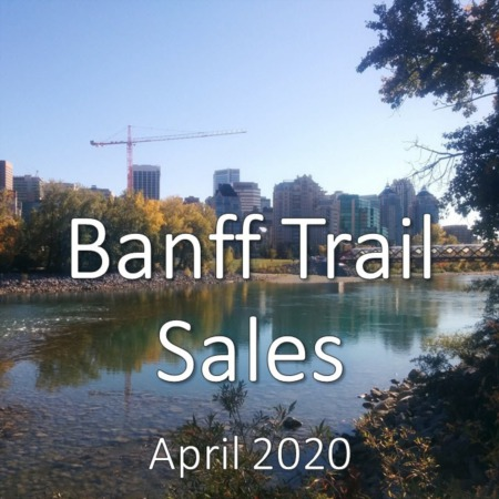 Banff Trail housing market update. April 2020