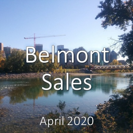 Belmont housing market update. April 2020