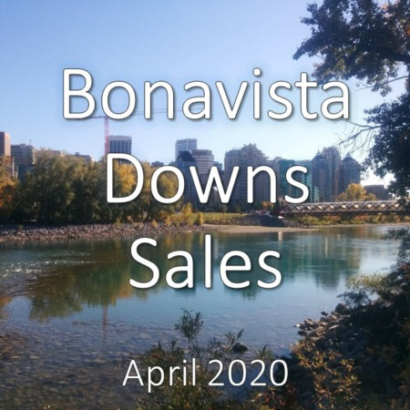 Bonavista Downs housing market update. April 2020