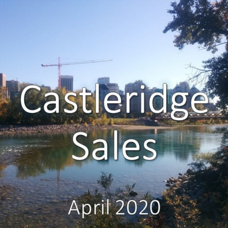 Castleridge Housing Market Update. April 2020