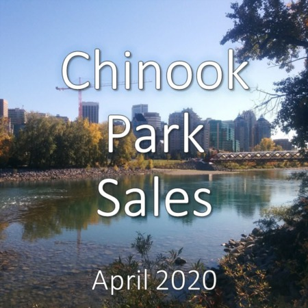 Chinook Park Housing Market Update. April 2020