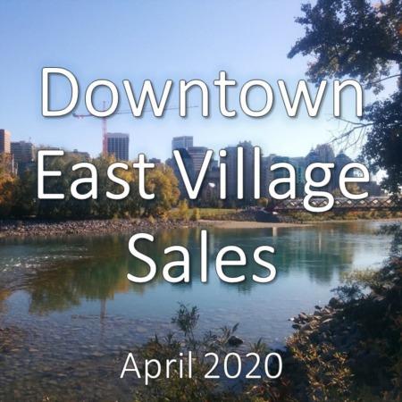 Downtown East Village Housing Market Update. April 2020
