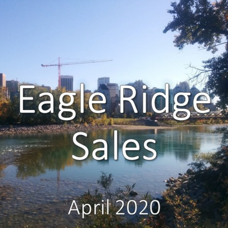 Eagle Ridge Housing Market Update. April 2020