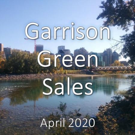 Garrison Green housing market update. April 2020