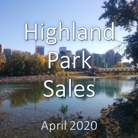 Highland Park Housing Market Update. April 2020