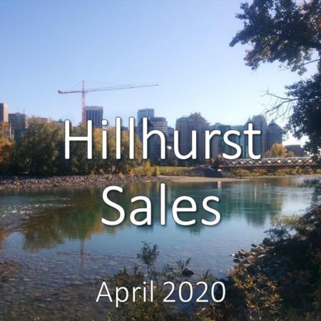 Hillhurst Housing Market Update. April 2020