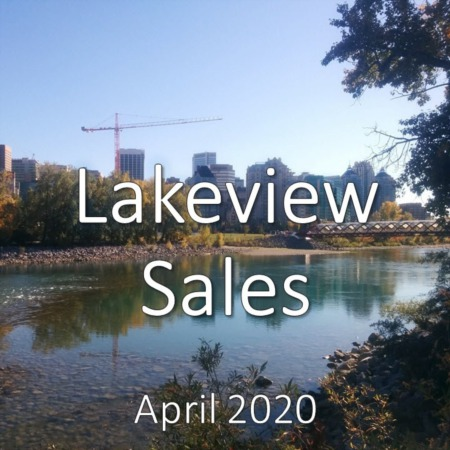 Lakeview Housing Market Update. April 2020