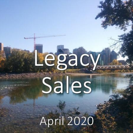 Legacy Housing Market Update. April 2020