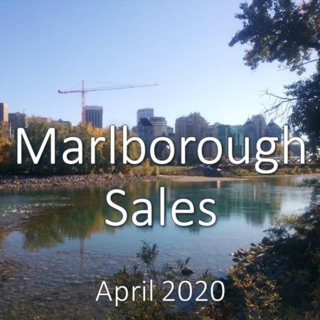 Marlborough Housing Market Update. April 2020