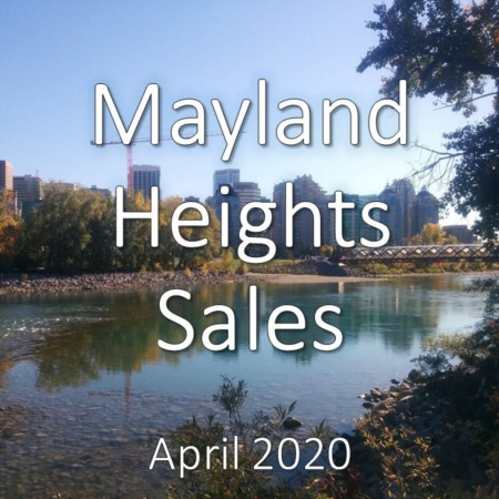 Mayland Heights Housing Market Update. April 2020