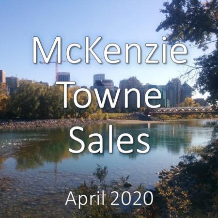 McKenzie Town Housing Market Update. April 2020