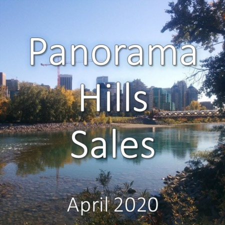 Panorama Hills Housing Market Update. April 2020