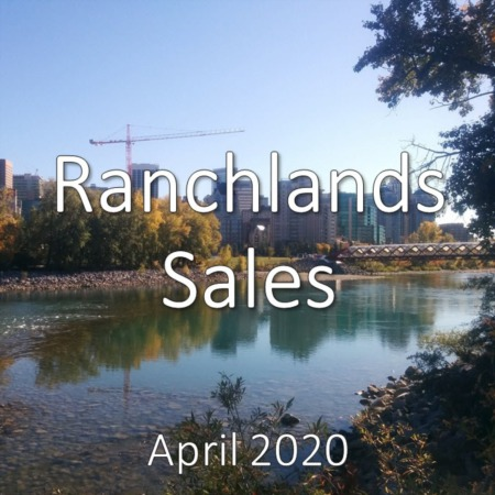 Ranchlands Housing Market Update. April 2020