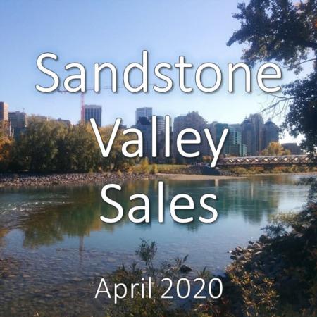 Sandstone Valley Housing Market Update. April 2020