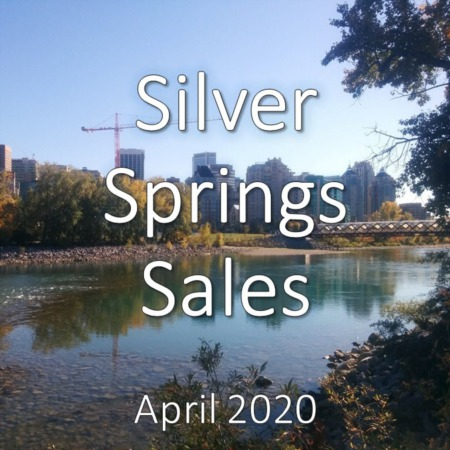 Silver Springs Housing Market Update. April 2020