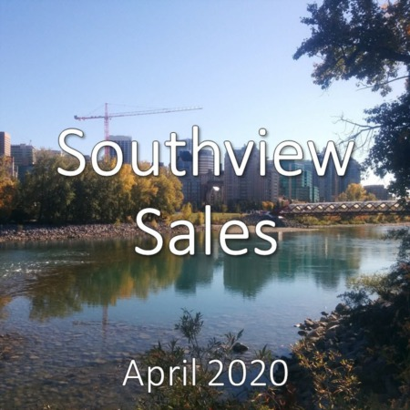 Southview Housing Market Update. April 2020