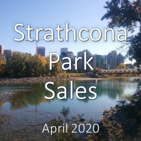 Strathcona Park Housing Market Update April 2020
