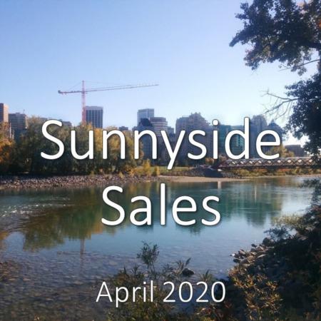 Sunnyside Housing Market Update. April 2020
