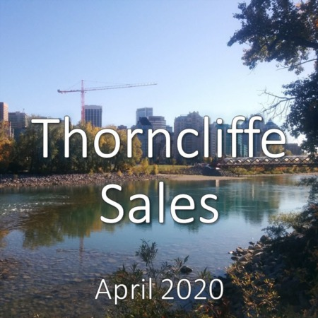 Thorncliffe Housing Market Update. April 2020