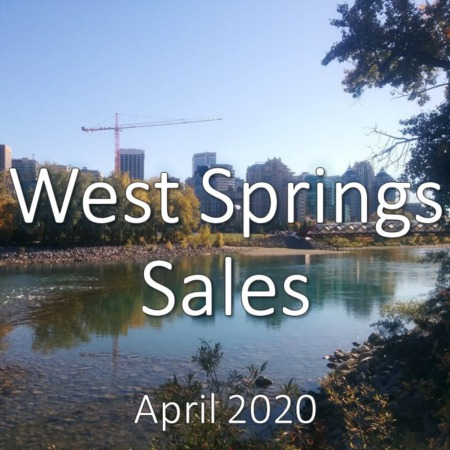 West Springs Housing Market Update April 2020