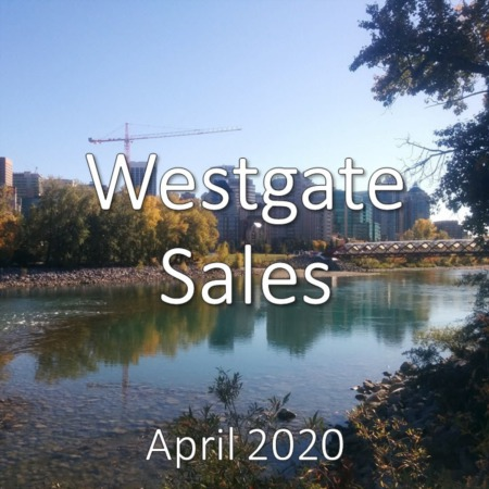 Westgate Housing Market Update. April 2020