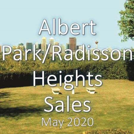 Albert Park/Radisson Heights Housing Update May 2020