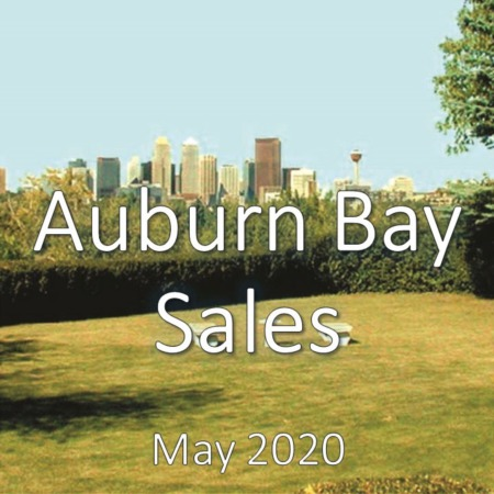 Auburn Bay Housing Market Update May 2020