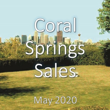 Coral Springs Housing Market Update May 2020